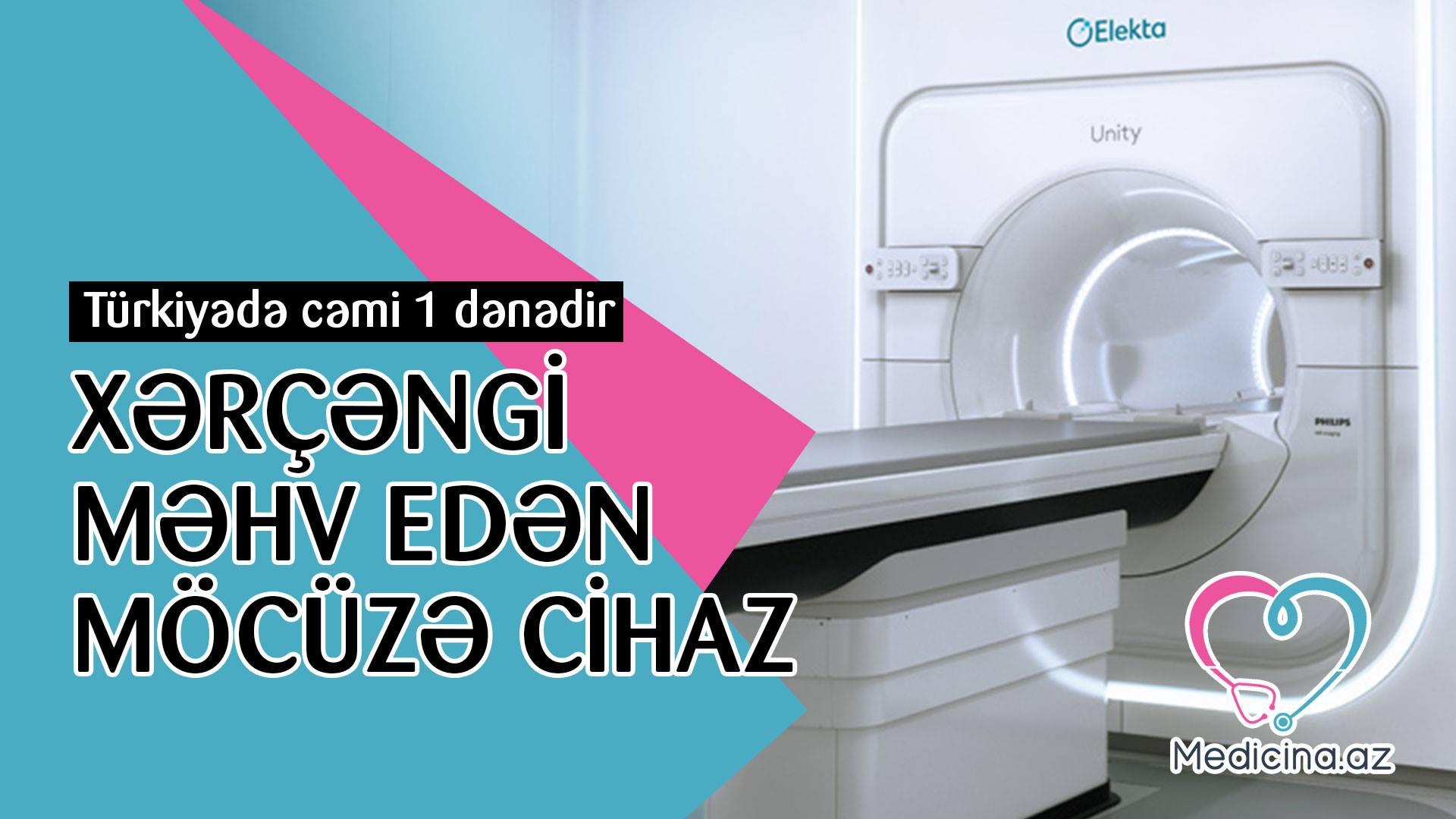 """Xərçəngi məhv edən yeni """"möcüzə cihaz"""" – Türkiyə aldı  - VİDEO"""