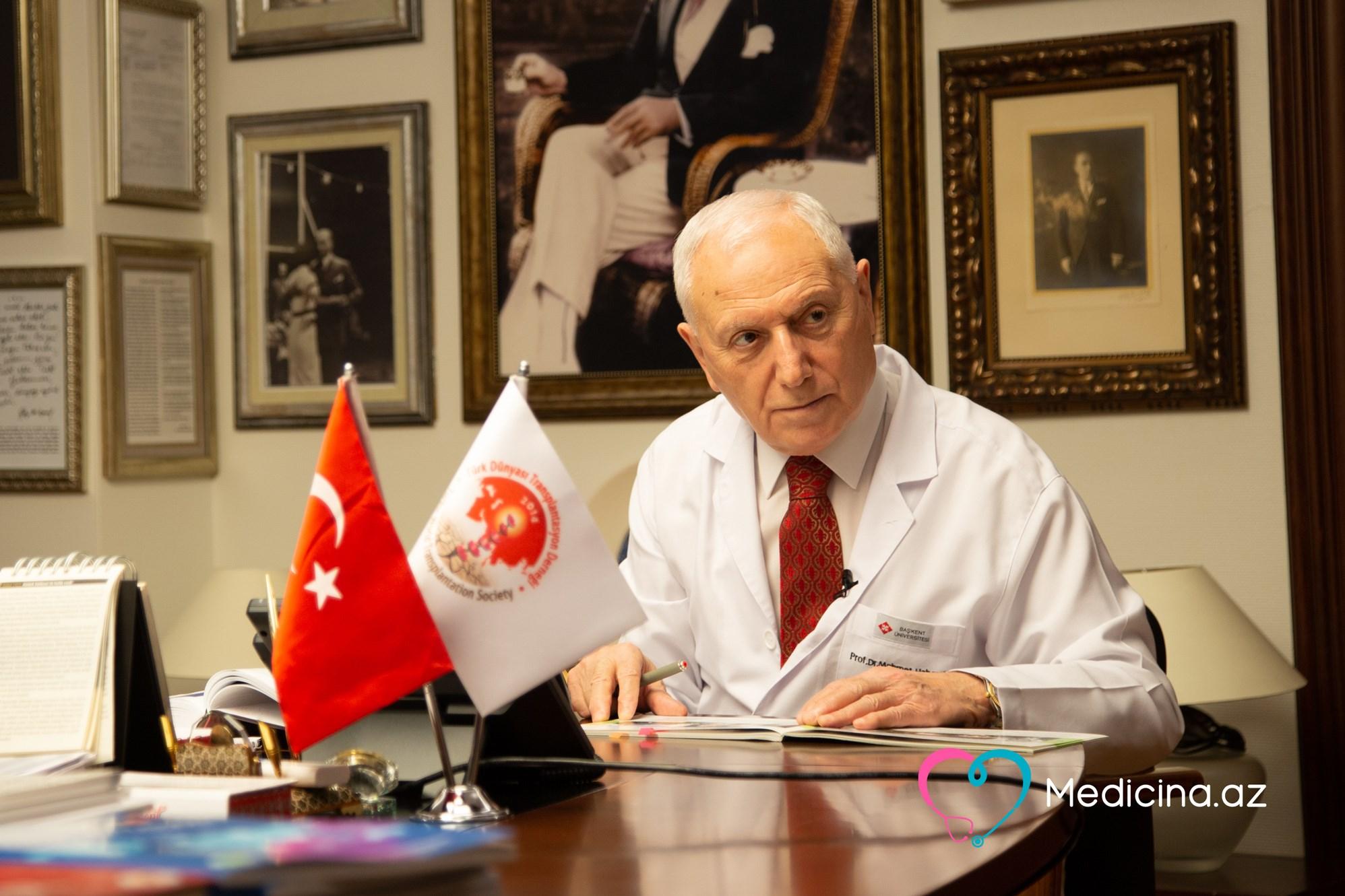 """Məşhur cərrah Azərbaycan həkimlərini Ankaraya dəvət etdi:   """"Gəlin öyrənin..."""" - VİDEO MÜSAHİBƏ"""