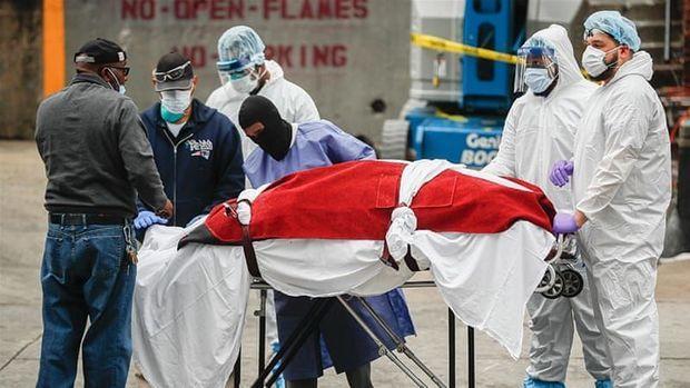 ABŞ-da koronadan ölüm sayı 600 minə çatır