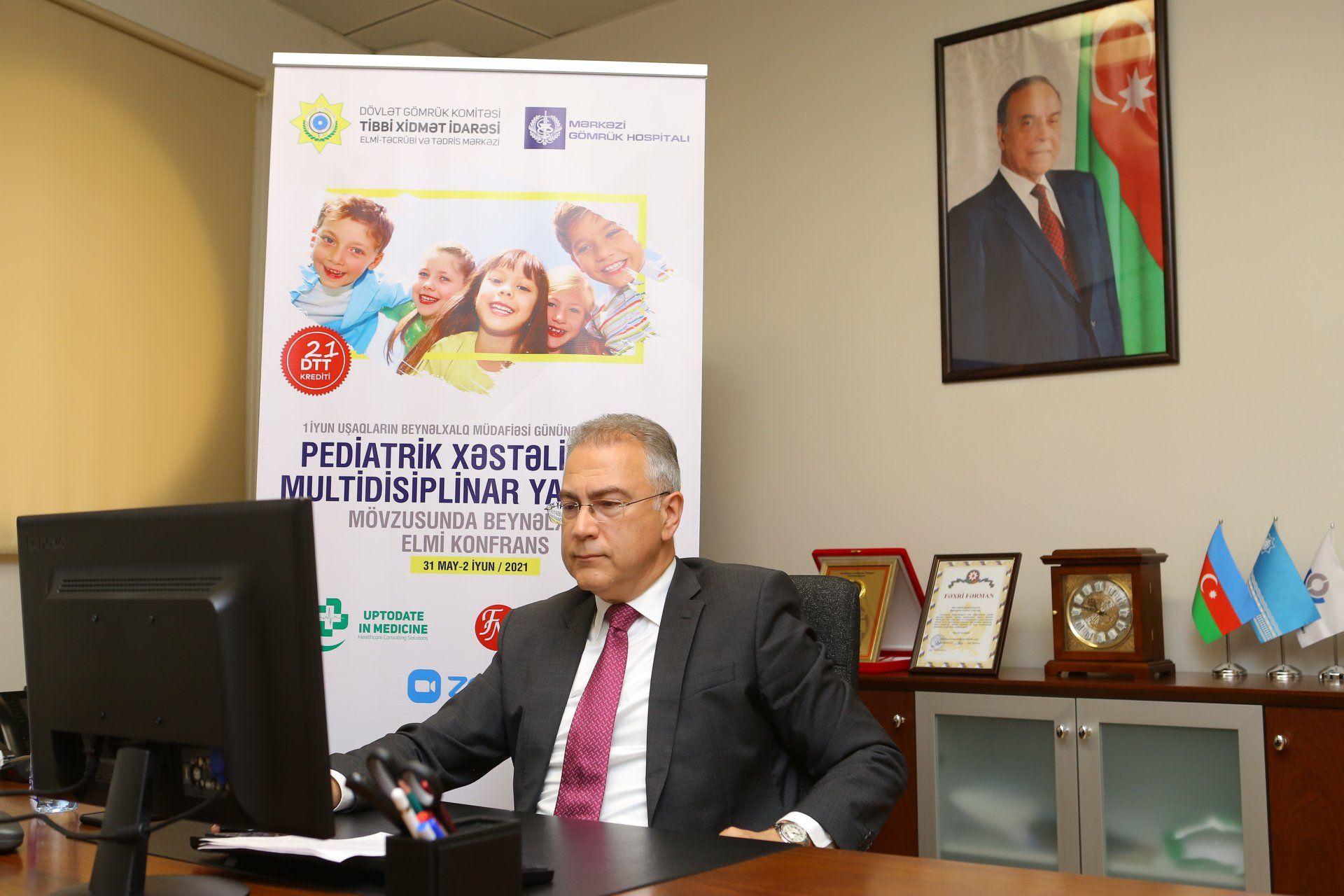 """""""Pediatrik Xəstəliklərə Multidisiplinar Yanaşma""""  Beynəlxalq Elmi Konfrans yekunlaşdı"""