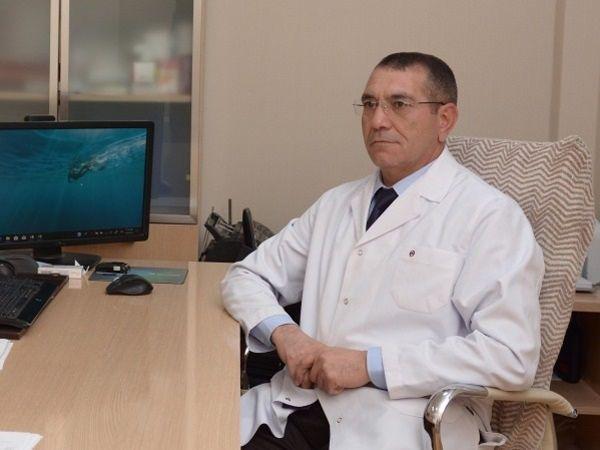 """""""Əgər ilk mərhələdə səbəb aradan qaldırılarsa,  hepatit iz qoymadan sağalır"""" -  Professor Nuru Bayramov"""