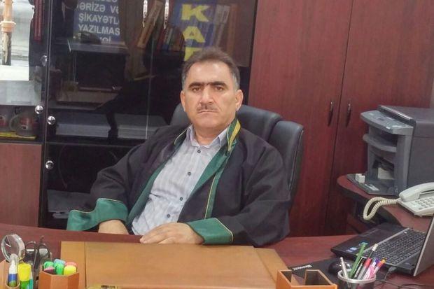 Tanınmış vəkil koronadan vəfat etdi