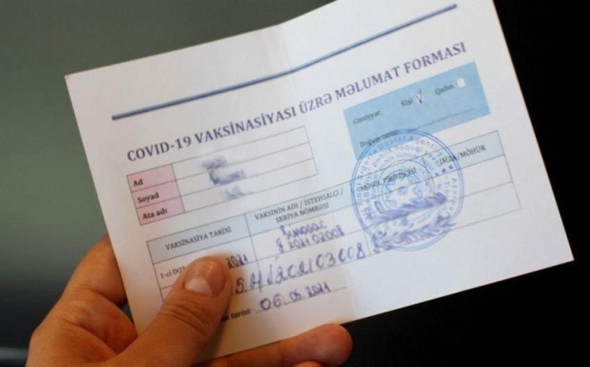 20 minə yaxın şəxsə əks-göstəriş sertifikatı verilib -  SN