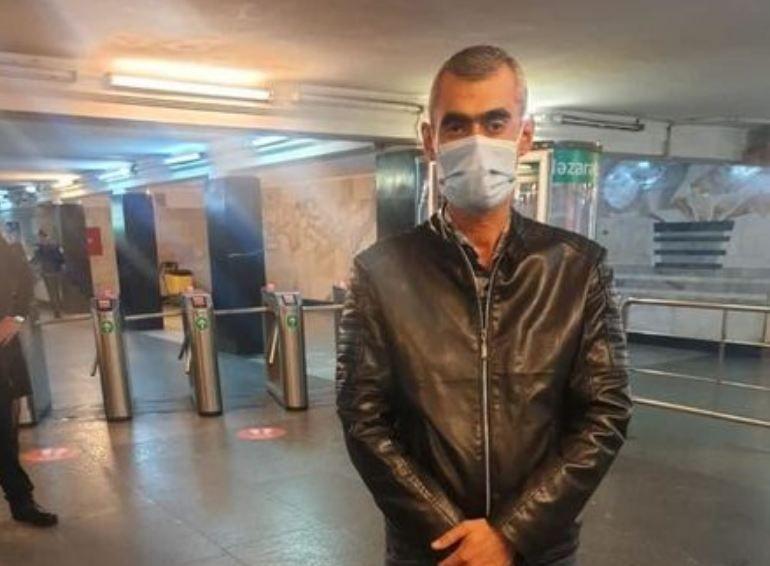 Bakı metrosunda koronavirus xəstəsi saxlanıldı