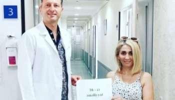 Azərbaycanlı qadın arıqlamaq üçün 16 dəfə əməliyyat keçirib  -  Sonuncu Bakıda oldu