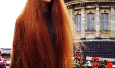 Keçəl qaldı -  İndi isə saçlarıyla pul qazanır - FOTO/VİDEO