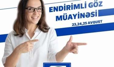 Göyçay sakinləri üçün endirimli göz müayinəsi -  Bioloji təbabət klinikasından AKSİYA
