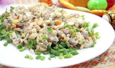 Toyuq qaraciyərindən salat –  Hazırlanma qaydası