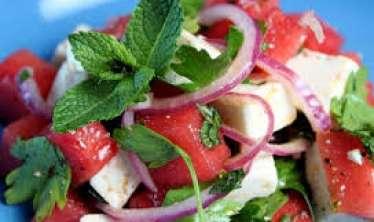 Qarpız salatı –  Super dadlı RESEPT