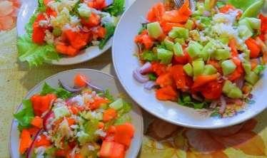 Qurdları tökən salat RESEPTİ-  Bütün ailə üçün