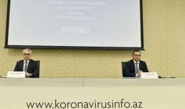 Azərbaycanda koronavirus və karantin rejimi ilə bağlı son durum  - Brifinq - CANLI
