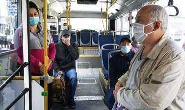 Maska taxmayan qızı avtobusdan qovdular -   VİDEO