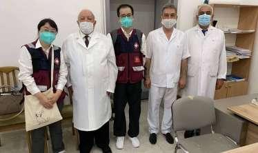 Çindən gələn həkimlər Respublika Klinik Xəstəxanasında olub  - FOTO