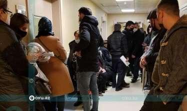 Mərkəzi Klinikada karantin qaydaları pozulur -  YENİLƏNİB-FOTO