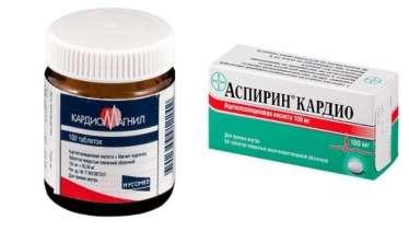 Kardiomaqnil yoxsa aspirin: hansı daha yaxşıdır?  -  Kimlərə olmaz
