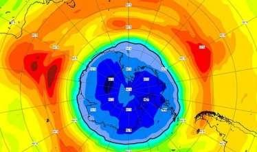 Ozon dəliyi 1 həftə ərzində rekord həddə böyüdü     -  Yer kürəsi təhlükədə: