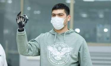 157 qaziyə yüksək texnologiyalı protez taxılıb